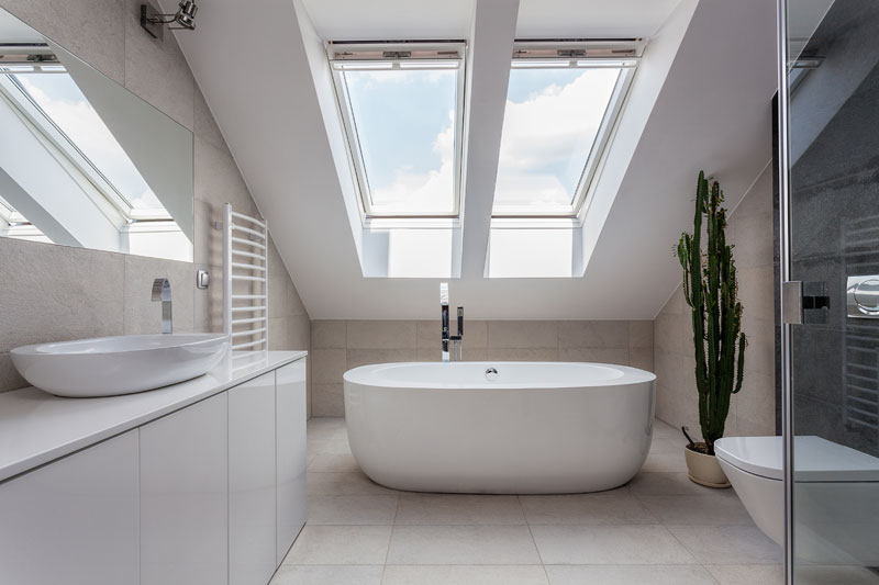 Plumbing fixtures and fittings traverse city interior - Velux salle de bain ...
