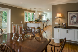 Kitchen, dining room and family room design